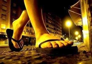 Los pies esos grandes sufridores