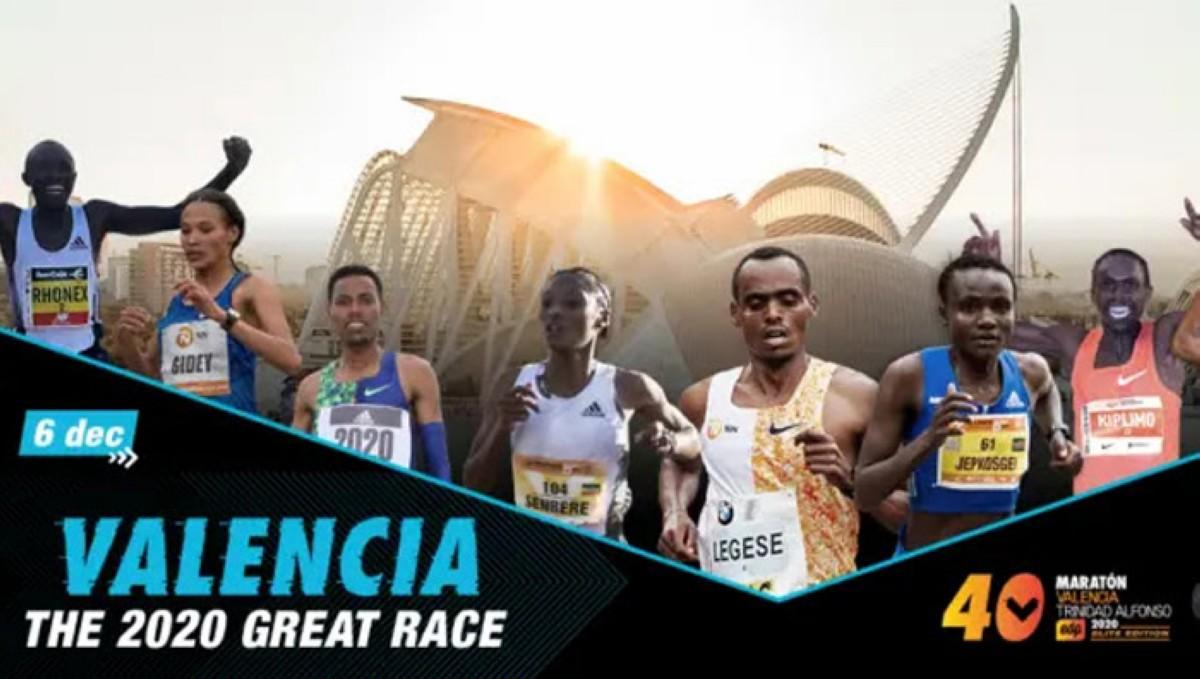 Maratón Valencia Elite Edition: la mejor carrera mundial de este año