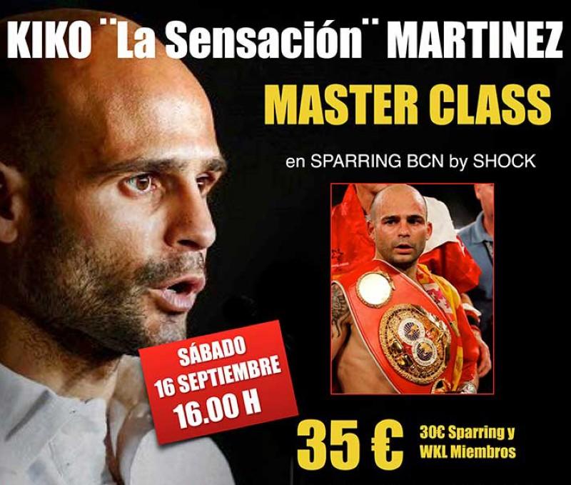 Master class a cargo de Kiko Martínez