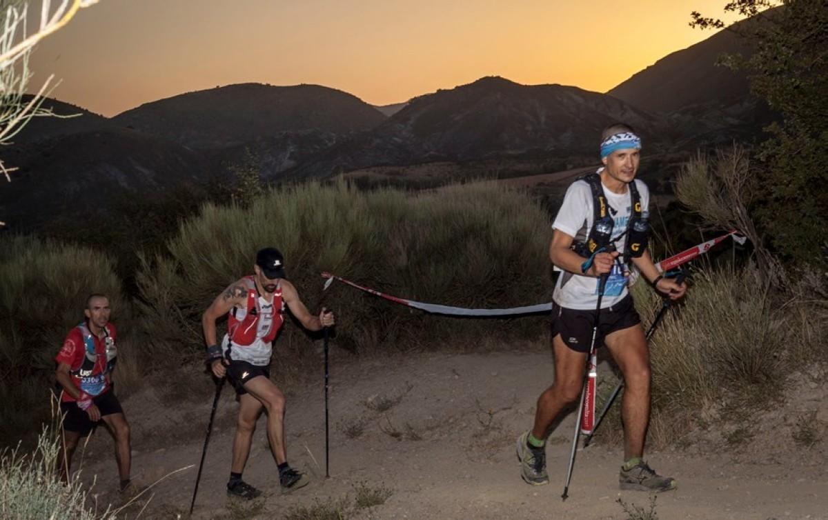 Miguel Heras y Marián Priadka comparten victoria en la Ultra Sierra Nevada