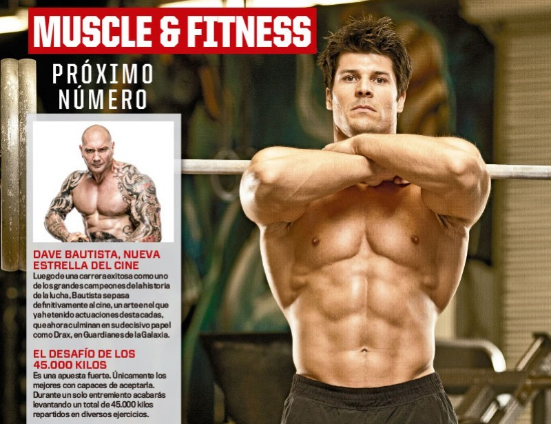 Muscle&Fitness de Junio