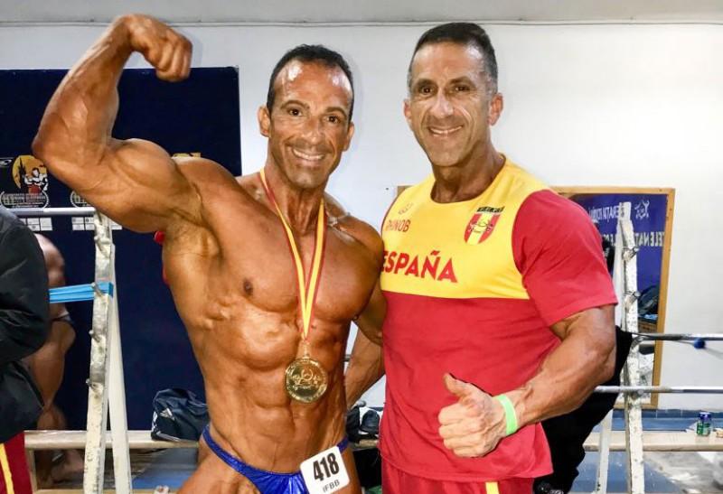 Oro para Michel Perez Plata para Jose Antonio Martinez