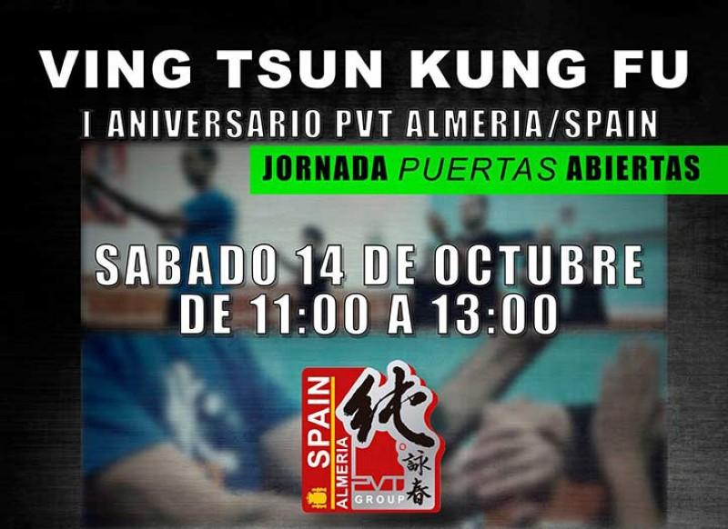 Primer aniversario de la escula Pure Ving Tsun Almería