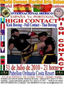Campeonato Internacional Iberico de HIGH CONTACT & KICK BOXING
