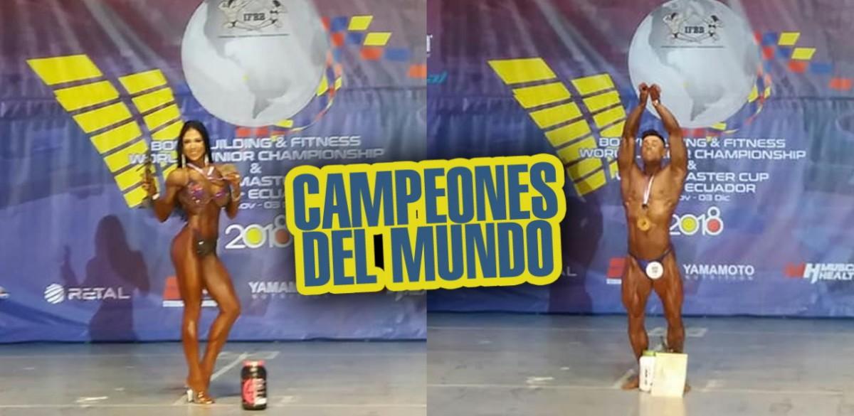 Rocio Araujo y Pedro Gallardo, Campeones del MUndo