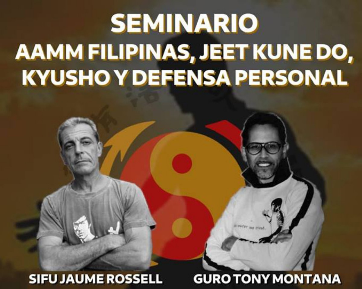 Seminario AAMM Filipinas, JKD, Kyusho y Def. Personal
