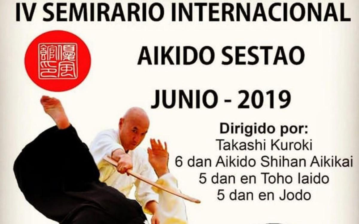 Seminario de Aikido en Sestao (Bizkaia)