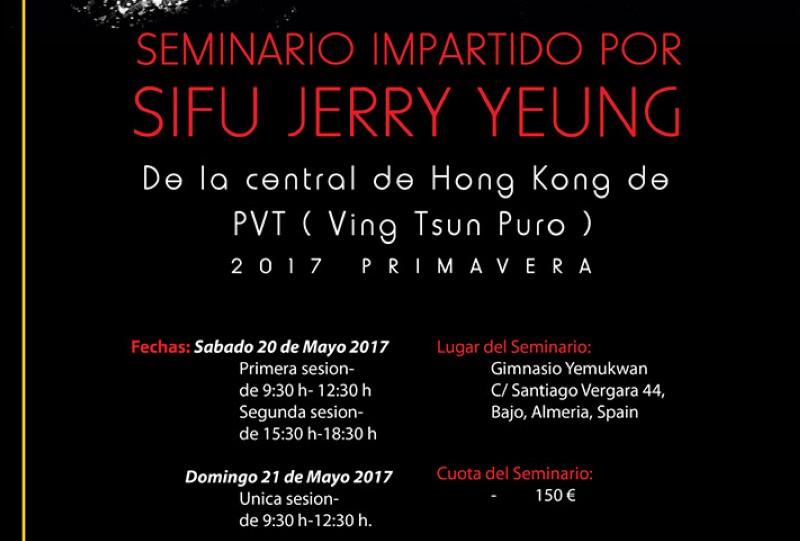 Seminario de WSL VT impartido por Sifu Jerry Yeung