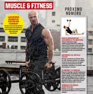 Adelanto de la próxima Muscle & Fitness