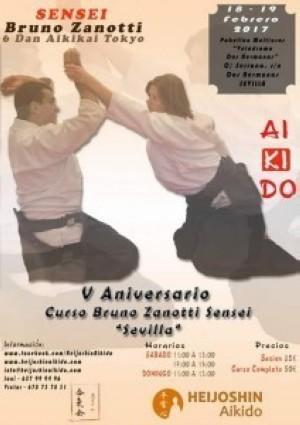 Bruno Zanotti sensei en Sevilla