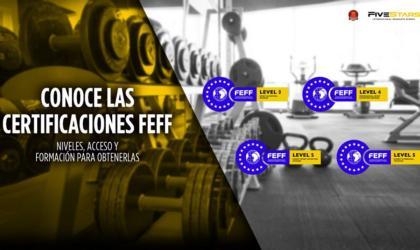 Certificaciones con reconocimiento nacional de la FEFF