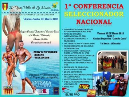 Conferencia del Seleccionador Nacional de la FEFF
