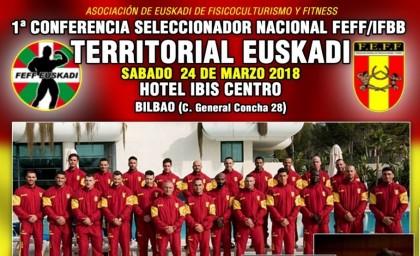 Conferencia Seleccionador Nacional en Euskadi