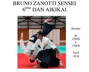 Curso con Bruno Zanotti Sensei