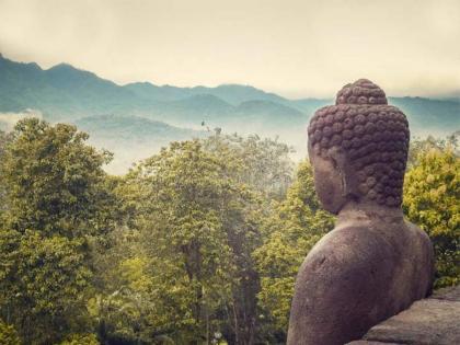 Curso intensivo de Meditación en el Parc de Montjuic