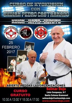 Curso de Kyokushin a cargo del Shihan Pedro Castranado