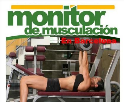 Curso de monitor de musculación en Barcelona