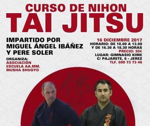 Curso de Nihon Tai Jitsu en Jerez