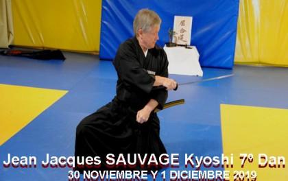 Curso de ZNKR Iaido con Jean Jacques Sauvage