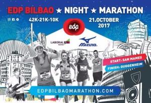 El EDP Bilbao Night Marathon, único en España