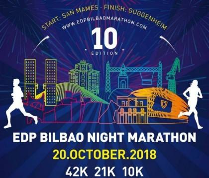 El EDP Bilbao Night Marathon en su 10ª edición