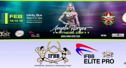 El IFBB Angela Borges Fitness Cup 2020
