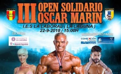 El III Open Solidario Oscar Marín