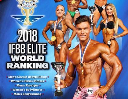 Elite Ranking 2018 con más premios