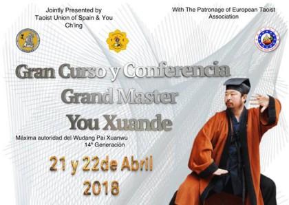 GM You Xuande: curso y conferencia
