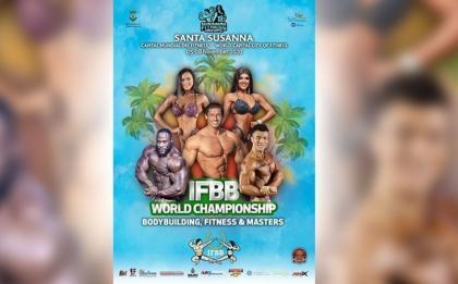 Listado final para los Campeonatos del Mundo IFBB 2020