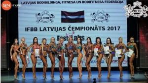 IFBB Iinternational Latvian Cup Riga Pearl 2017
