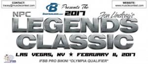 IFBB Legends Classic Pro 2017 en las Vegas