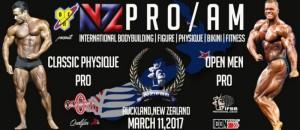 IFBB New Zealand Pro 2017