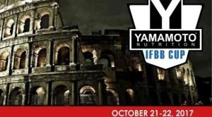 Inscripción IFBB YAMAMOTO Cup Italy Roma