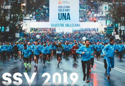 La 55ª edición de la San Silvestre Vallecana Internacional