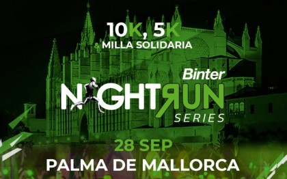 La Binter NightRun Mallorca Ser Runner