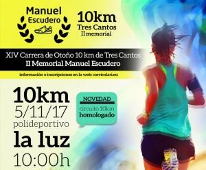La Carrera de Otoño 10 KM. Ciudad Tres Cantos