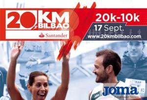 La segunda edición del 20km Bilbao