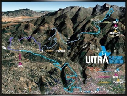 La Ultra Trail Sierra Nevada en Abril del 2021