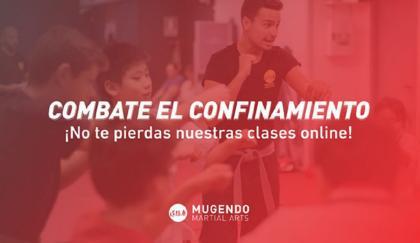 Las escuelas de artes marciales Mugendo gratis online a toda España