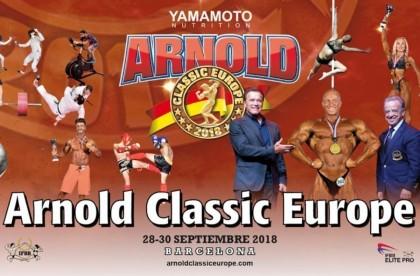 Listado final españoles para el Arnold Classic Europa