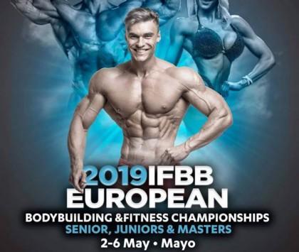 Listado Provisional Cto de Europa IFBB Santa Susanna 2019