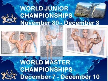 Listado de selección para el Mundial  MASTER Y JR