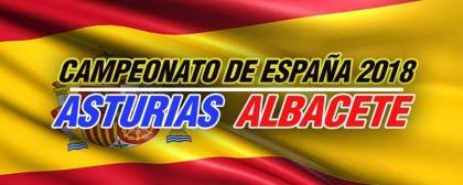 Los Campeonatos de España FEFF Albacete y Asturias