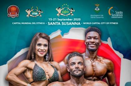 Los Campeonatos de Europa en Santa Susanna en septiembre