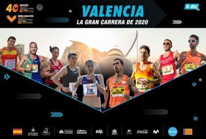 Maratón Valencia confirma el mejor plantel de atletas españoles