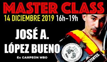 Master Class con José A. López Bueno en Sparring BCN
