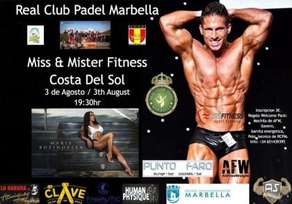 Miss & Mr. Fitness Costa del Sol dentro del circuito de verano