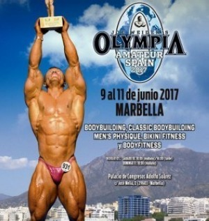 Mister Olympia Amateur Spain Marbella con 80 inscritos