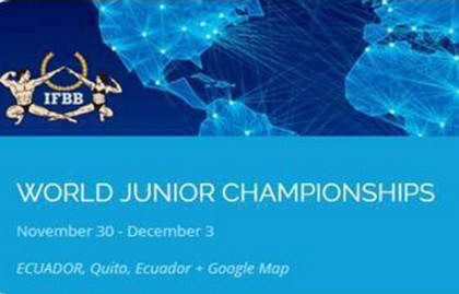 Mundial de Fitness junior en Quito